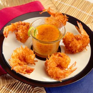 Coconut Fried Shrimp.