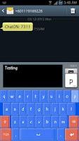 Screenshot of XP Smart Keyboard HD skin