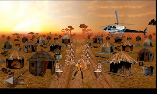 African Heroes 3D : Space