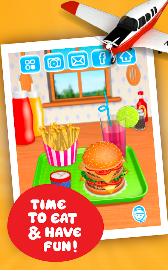 deluxe hamburger games