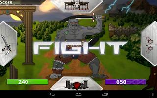 Screenshot of Bio Sword Saga Lite