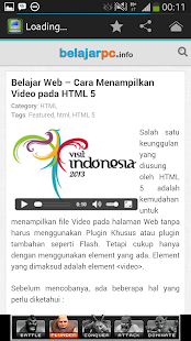 Belajar PC For Android - screenshot thumbnail