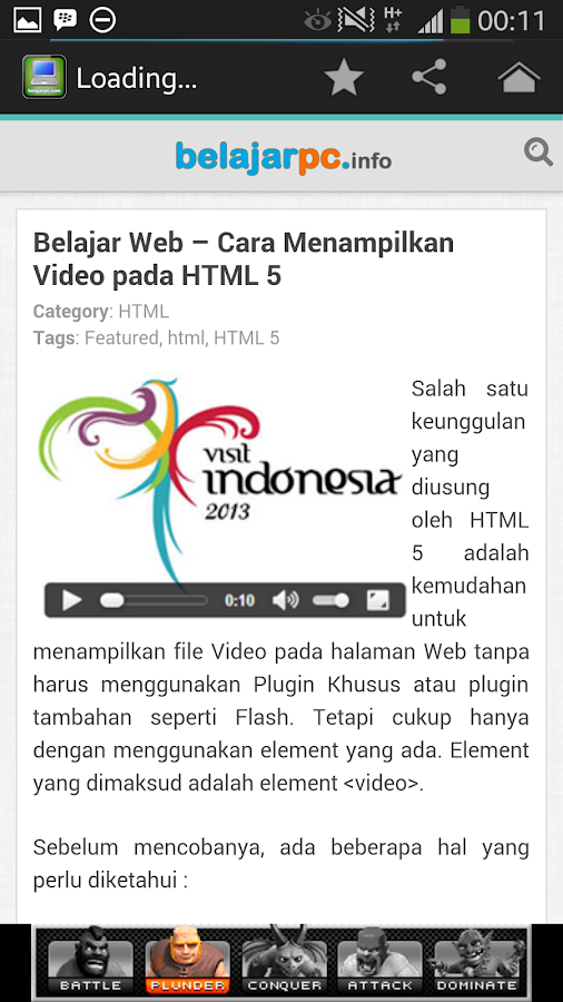 Belajar PC For Android- screenshot