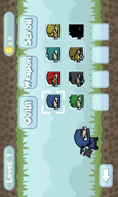 Galaxy Ninjas FREE - screenshot