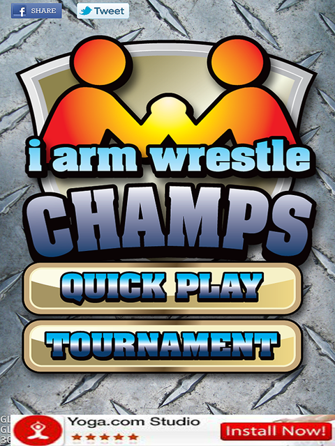 iArm Wrestle Champs!- screenshot