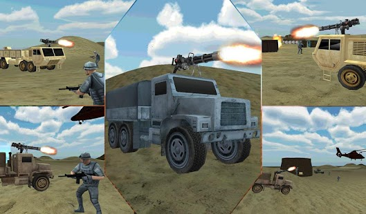 Desert-Military-Base-War-Truck 11