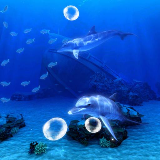 个人化のBlue Sea ~イルカの祈り~Trial LOGO-記事Game