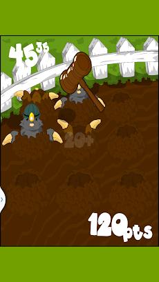 モグラ叩き - モグラの侵入のおすすめ画像2