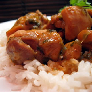 Trinidad Stewed Chicken.