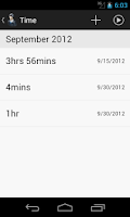 Screenshot of ServiceDroid
