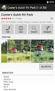 RV Parks & Campgrounds- screenshot thumbnail