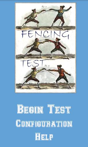 Fencing Test