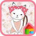 The cat vintage room dodol icon