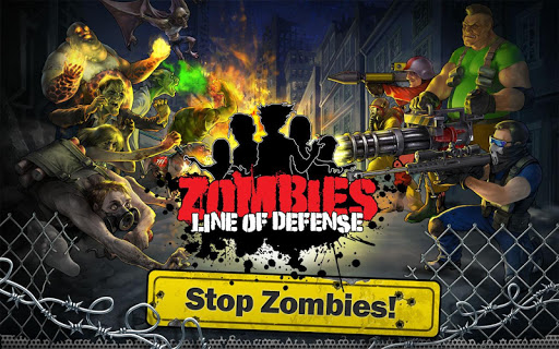 ���� Zombies: Line of Defense – TD v1.2 [Mod Money] ������� ���������