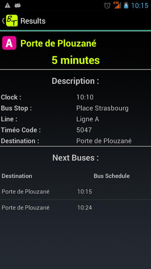 Horaire Car Plouguerneau Brest