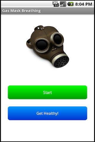 Gas Mask Breathing - screenshot