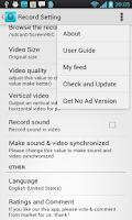 Screenshot of No Root Screen Recorder-Trial