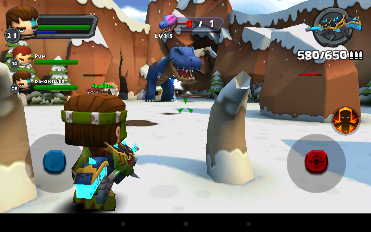 Screenshots of Call of Mini™ Dino Hunter for iPhone