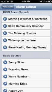 Alarm Clock KCCI 8 News - Iowa - screenshot thumbnail
