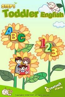 Toddler English Setp 1 EzNet- screenshot thumbnail