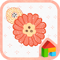 Peach Blossom Dodol Theme icon