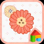 App Peach Blossom Dodol Theme version 2015 APK