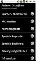 Screenshot of My Restaurant-Pro:Events,Menus