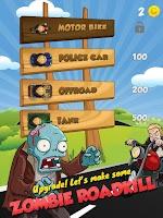 Screenshot of Zombie Hunt Racing