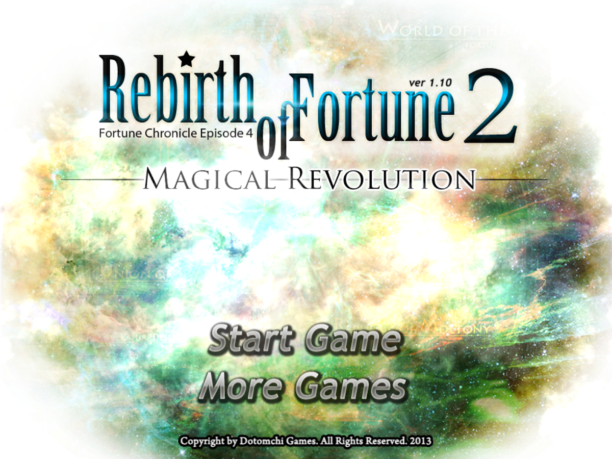 Rebirth of Fortune 2- screenshot