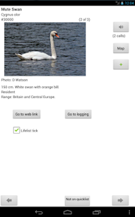 WP & UK Birding Checklist - screenshot thumbnail