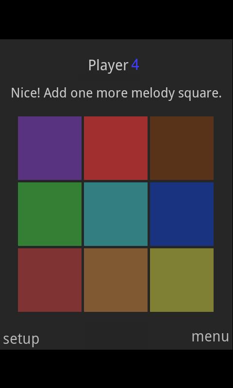 Melody Squares- screenshot