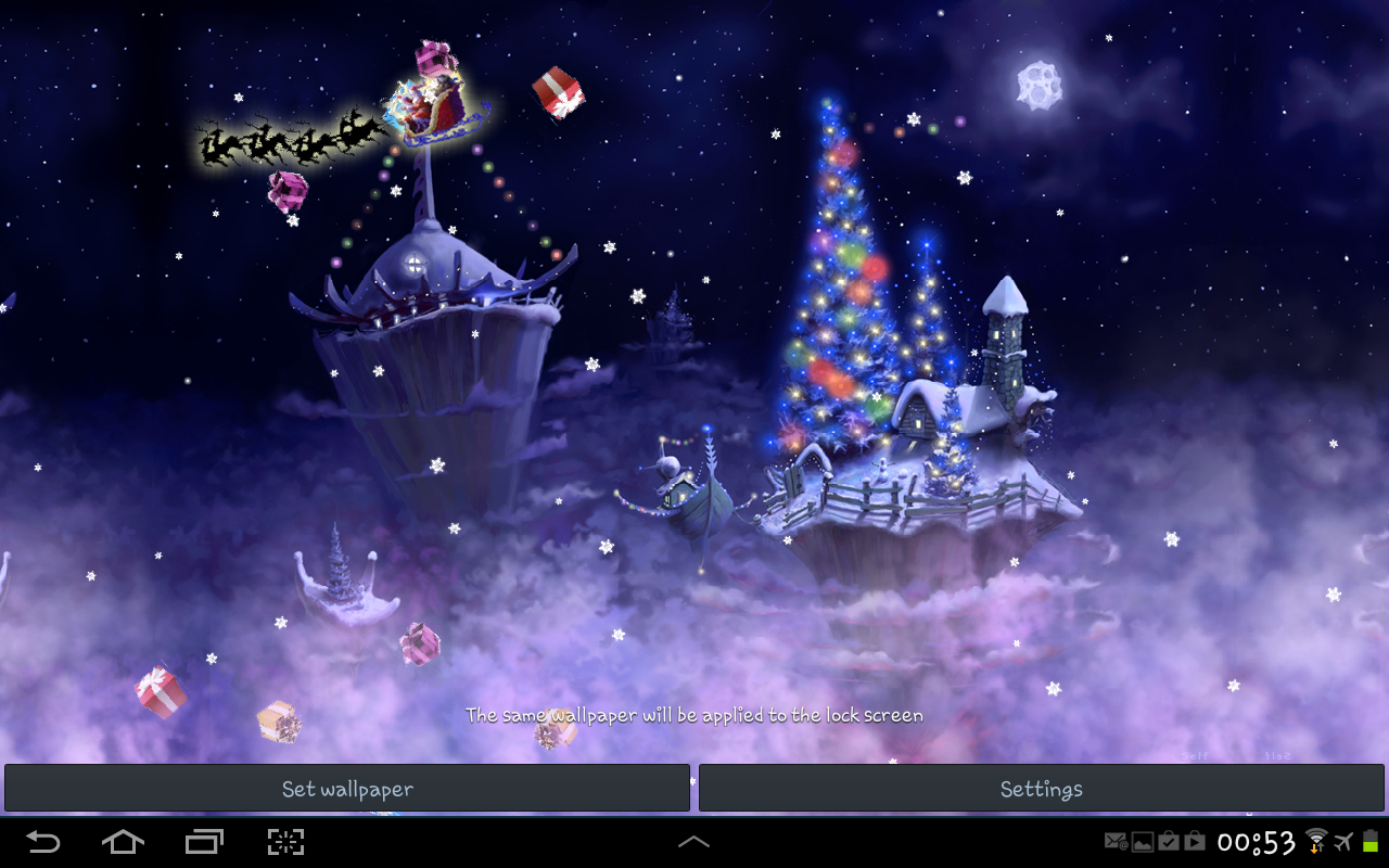 Christmas Snow Fantasy Full - Android Apps on Google Play