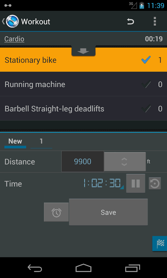 Jucy Workout Gym & Fitness Log - screenshot