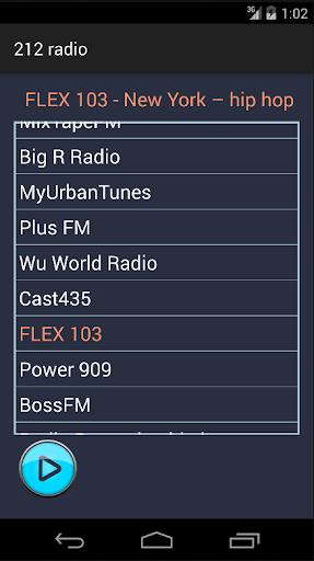 212 Radio Rap and Hip Hop