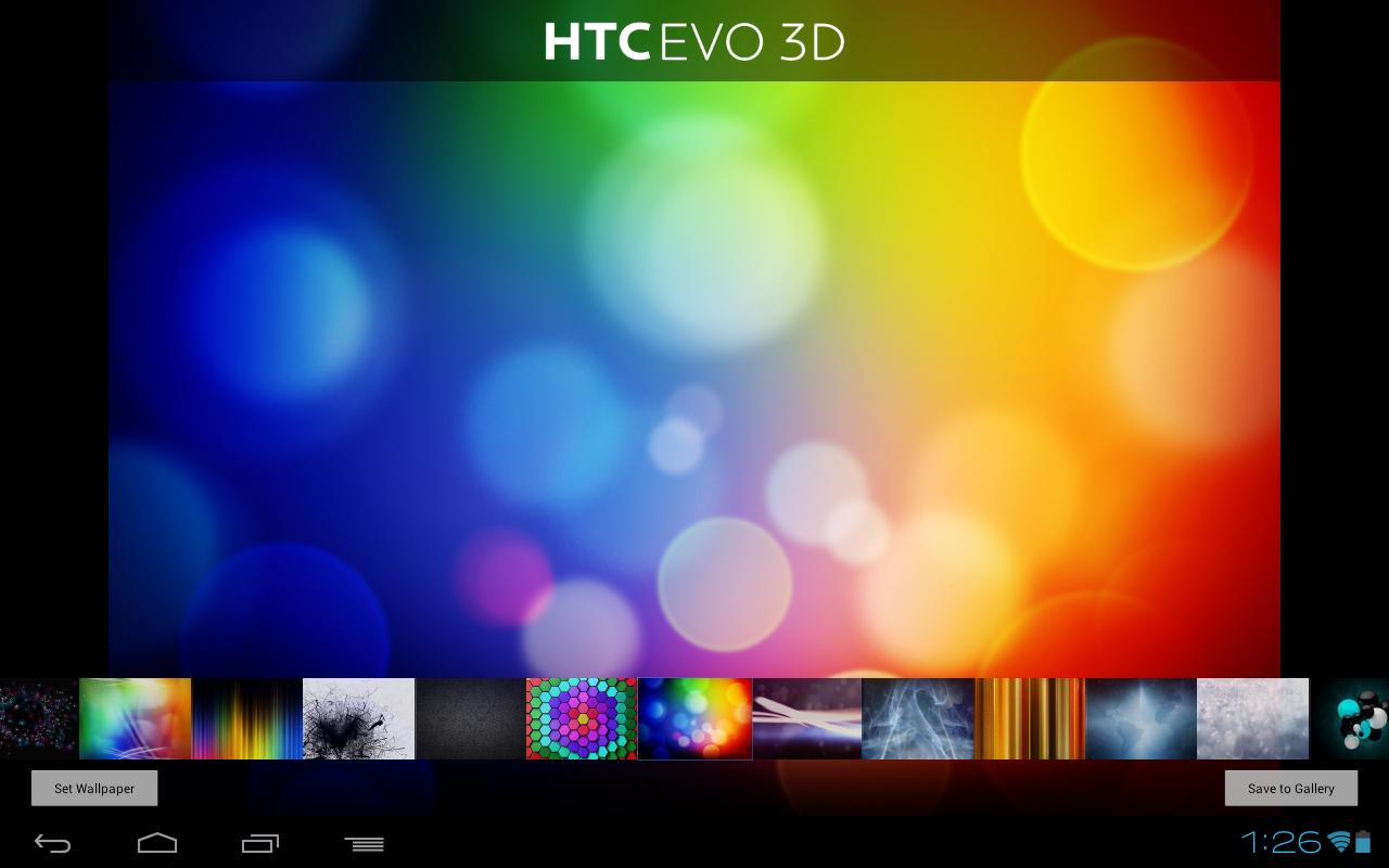 Wallpapers - HTC Evo - screenshot
