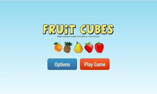 Fruit Cubes Games