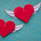 Origami for Valentine