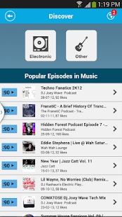 PodOmatic Podcast Player - screenshot thumbnail