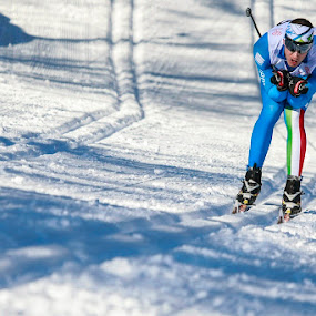 In posizione by Alexis Courthoud - Sports & Fitness Snow Sports ( ski, croos country, mountain, vda, sci di fondo, snow, opa cup )