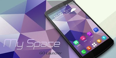Screenshot of My Space GO Launcher Theme