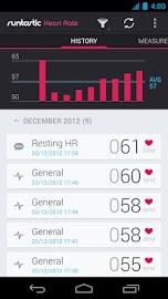 Runtastic Heart Rate Screenshot 2