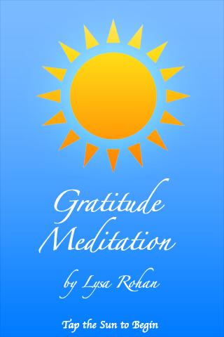 Gratitude Meditation - screenshot