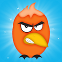 Annoyed Birds Coloring icon
