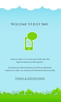 Screenshot of JustSMS - Unlimited Free SMS