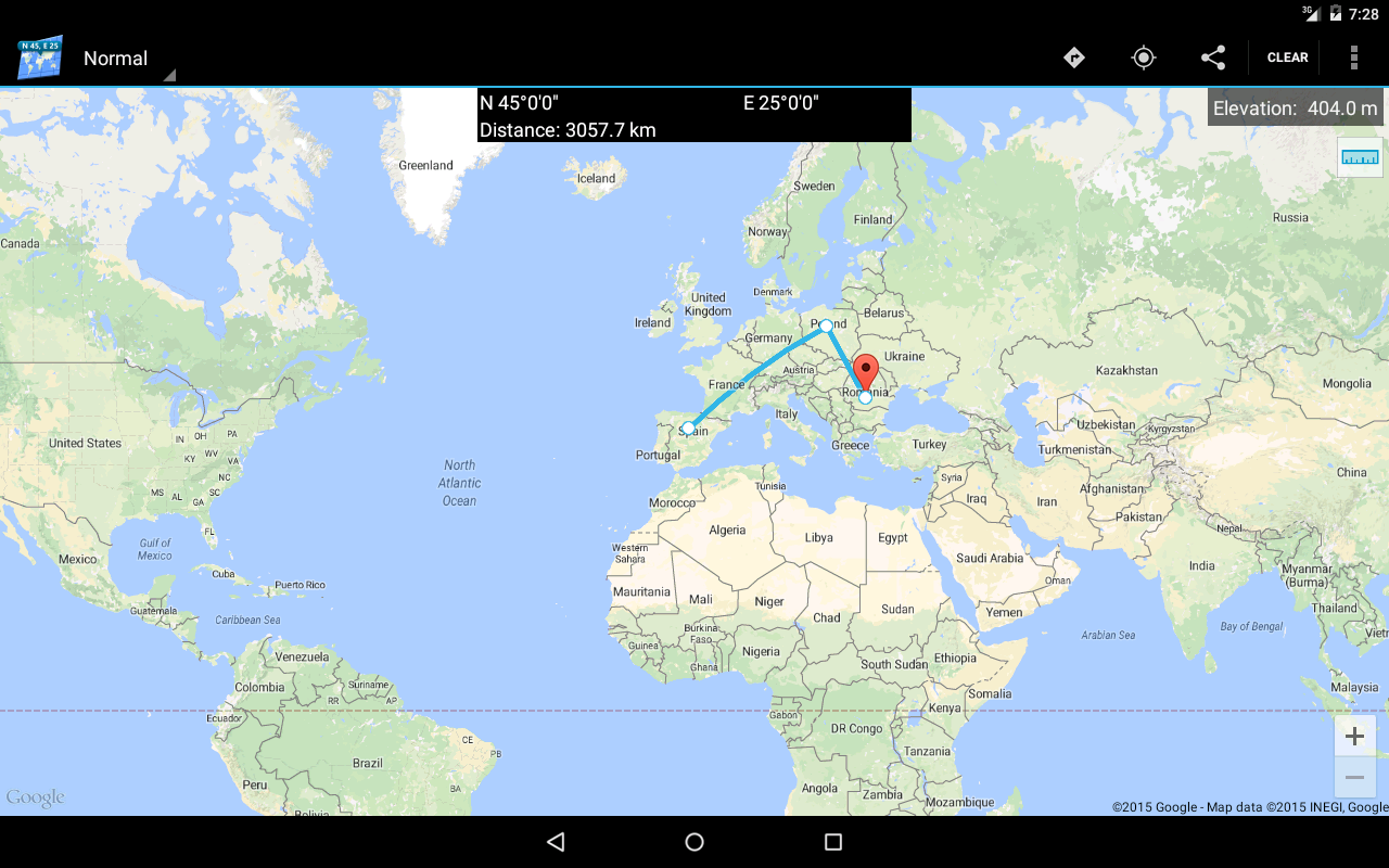 pro map coordinates screenshot. pro map coordinates  android apps on google play