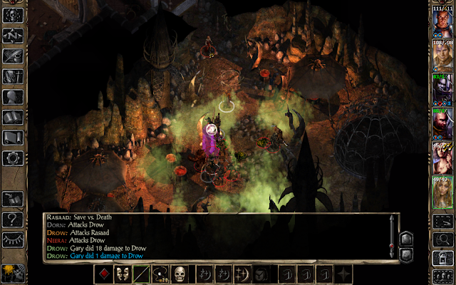 Baldur's Gate II - screenshot
