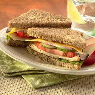 Garden Chicken and Cheese Sandwich