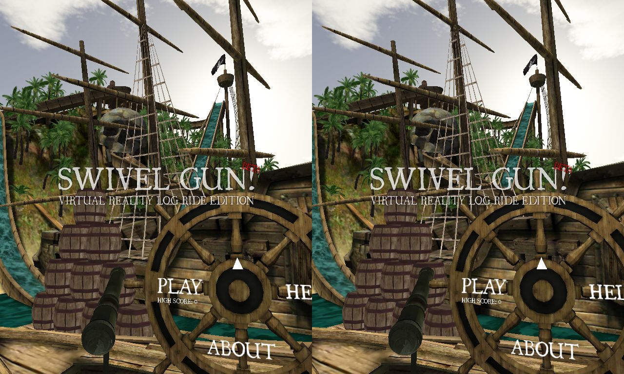Swivel Gun! VR Log Ride (beta)- screenshot