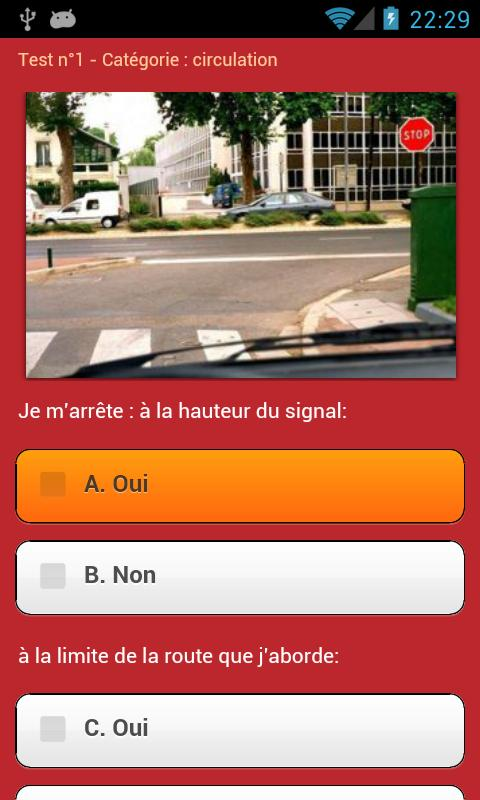Mon Code de la Route - screenshot
