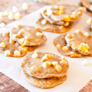 Mango and White Chocolate Chip Cookies